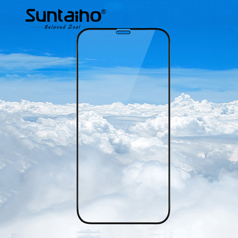 Suntaiho Cold Carving 5D Curved 9H Anti-dust Tempered Glass For iPhone X 4D / 3D