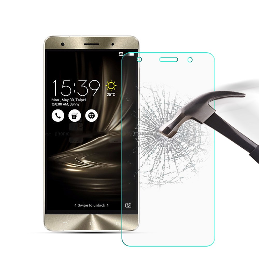 Tempered Glass For Asus ZenFone 3 Deluxe ZS570KL 5.7""