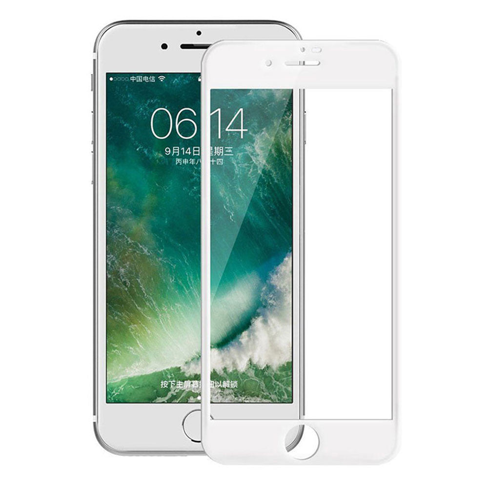 New For iPhone 8 Plus Full Cover Tempered Glass Screen Protector Black