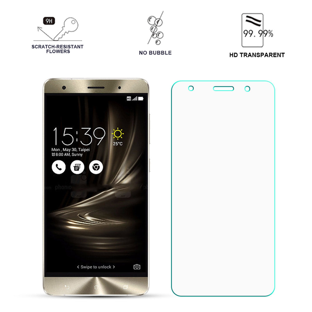 Tempered Glass For ASUS ZenFone 3 Deluxe ZS570KL Screen Protector