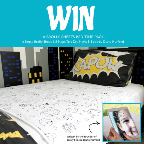 Win a Brolly Sheet and Book Pack