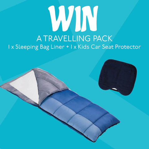 Competition UK Sleeping Bag Liner and Waterproof Kids Car Seat Protector