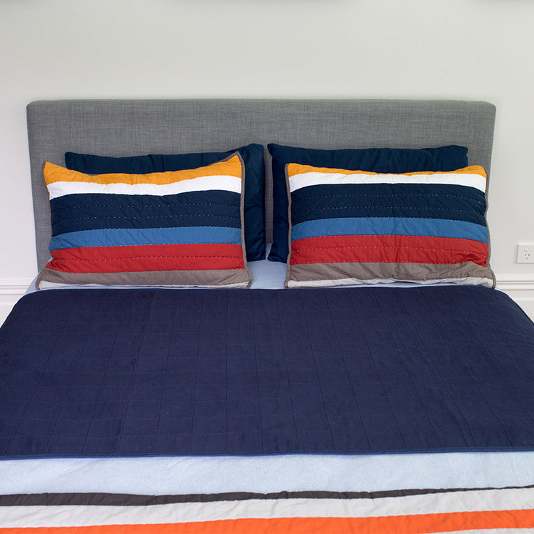 Double Navy Brolly Sheet