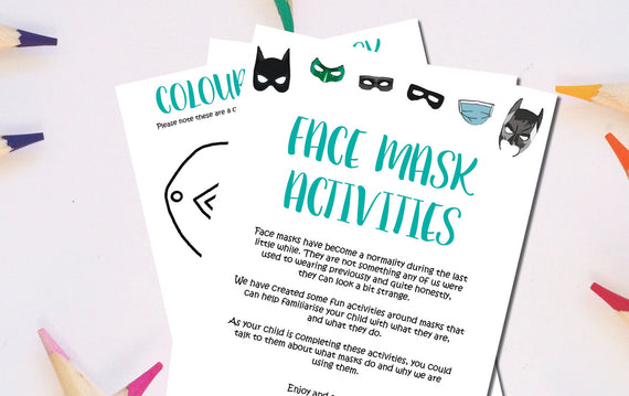 Face Mask Activities Downloadable