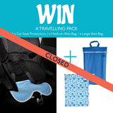 Competition Winner Kids Car Seat Protector and Wet Bag