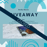 competition giveaway brolly sheet