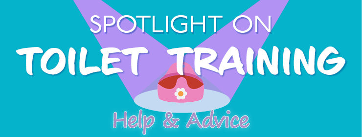 spotlight on toilet training day and night