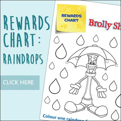 Rewards Chart: Raindrops