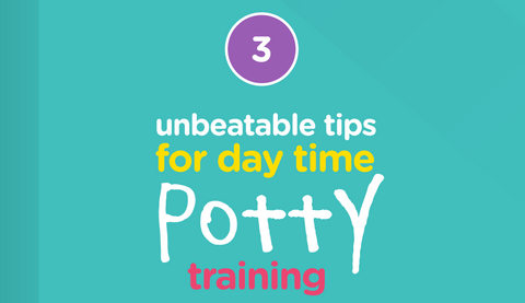 Title card for the day time potty-training guide