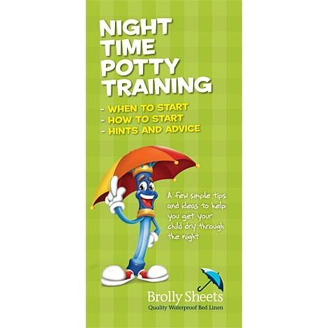 Toilet Training Night Time Brochure