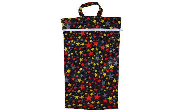 Black Stars Large Wetbag