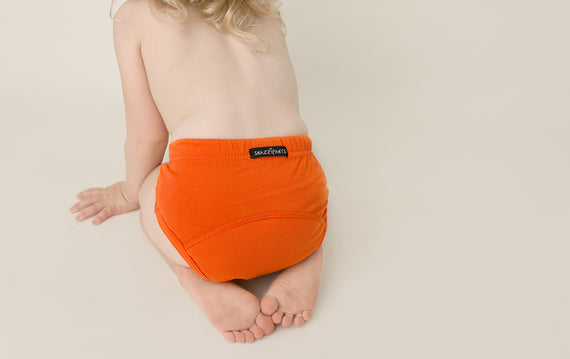 Snazzipants Orange Day Time Training Pants