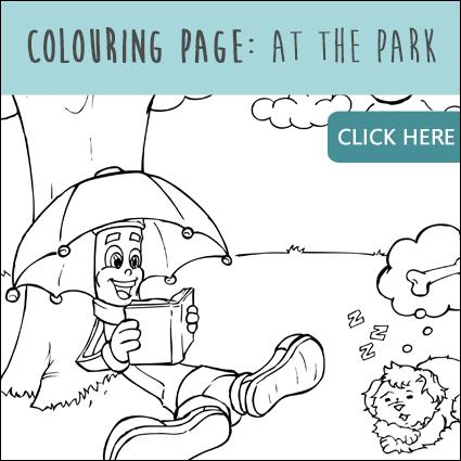 Colouring Page: At The Park