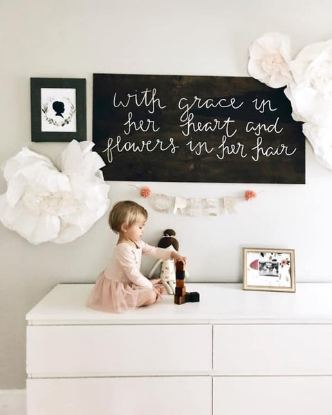 When is the best time to have my child's silhouette made? || Morgan Atkinson Fine Art custom silhouette art