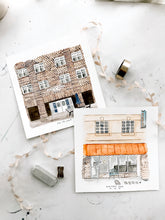 "Load image into Gallery viewer, ""Our Spot"" Custom Watercolor"