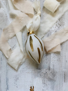 Metallic Gold Ornament