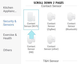 scroll to sensor alydi alexa