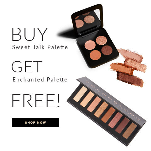 Buy a Sweet Talk Quad, Receive a free Enchanted Palette