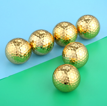 Load image into Gallery viewer, Kribi Exclusive Gold Golf Ball