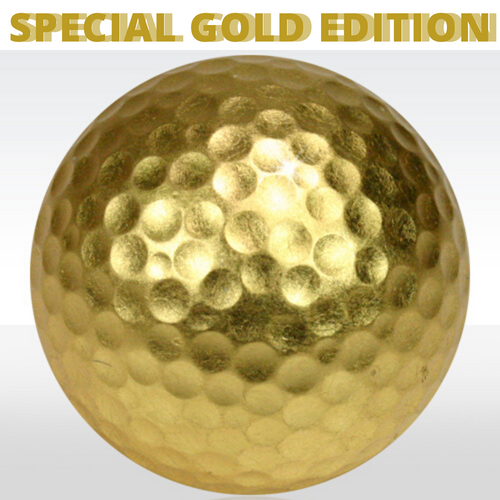 Kribi Exclusive Gold Golf Ball