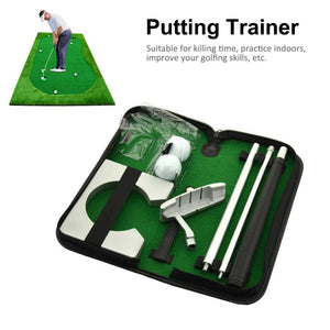 Portable Indoor Set Golf Putting Trainer - kribigolf