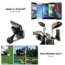 Load image into Gallery viewer, Golf Club Practice Records Accessories Phone Holder