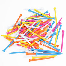 Load image into Gallery viewer, Mixed Color Plastic Golf Tees - kribigolf