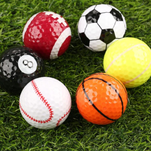 Novelty Creative Rubber Golf Ball - kribigolf