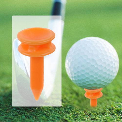 100Pcs/Set Portable to Carry Plastic 69mm Golf Tees Golf Training - kribigolf
