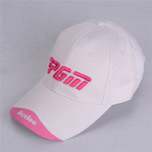 Sunscreen Peaked Adjustable Cap - kribigolf