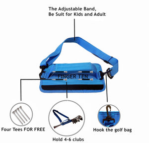 Golf Club Bag Carrier For Travel