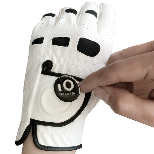 Golf Gloves With Ball Marker - kribigolf
