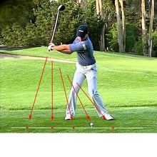 Load image into Gallery viewer, Golf Swing Corrector Laser Plane Trainer - kribigolf