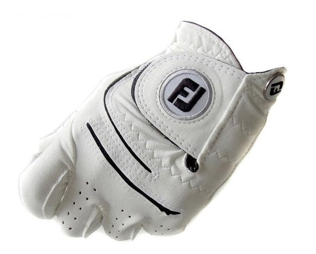 Genuine Leather Microfiber Golf Gloves - kribigolf