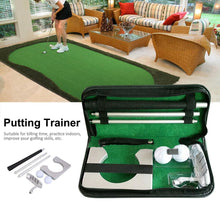 Load image into Gallery viewer, Portable Indoor Set Golf Putting Trainer - kribigolf