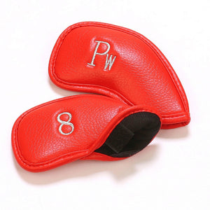 Durable Leather Golf Headcover - kribigolf