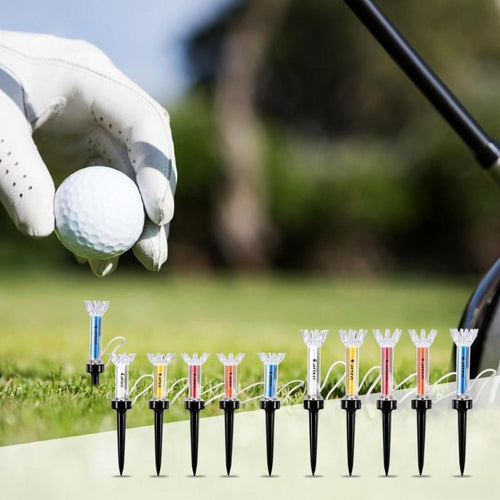 Magnetic Step Down Golf Tees - kribigolf