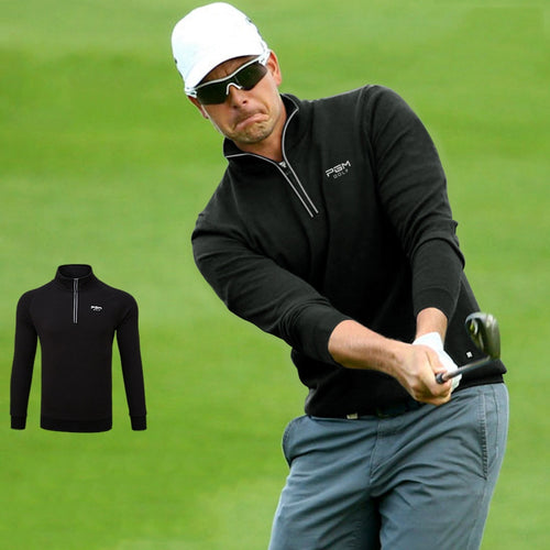 Mandarin Collar Long Sleeve Jacket - kribigolf
