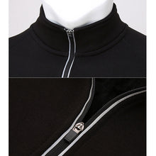 Load image into Gallery viewer, Mandarin Collar Long Sleeve Jacket - kribigolf