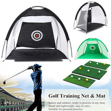 Load image into Gallery viewer, Foldable Indoor Outdoor Golf Hitting Cage Training Aids - kribigolf