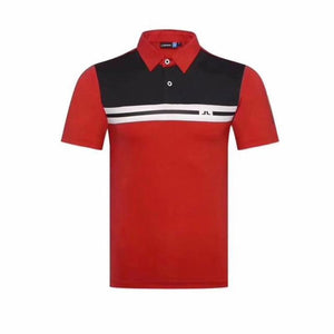 Cotton Short Sleeve Golf T-shirt - kribigolf