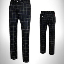 Load image into Gallery viewer, Elastic Authentic Plaid Pants - kribigolf
