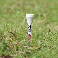 Load image into Gallery viewer, Solid White Wood Golf Tee - kribigolf