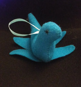 Cute Handmade Nessie Ornament