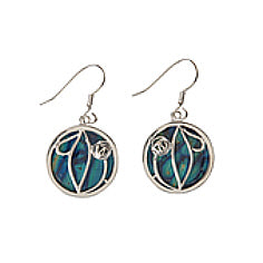 MacIntosh HeatherGems Earrings - Silver Plate