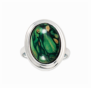""" NEW ""  Heathergem Oval Ring"