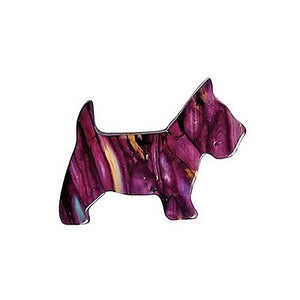 ** NEW **  Scottie Dog Brooch