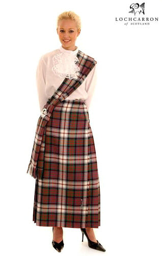 Hostess Kilted Skirt - Reiver