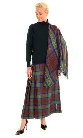 Hostess Kilted Skirt - Riever - Custom Sizes
