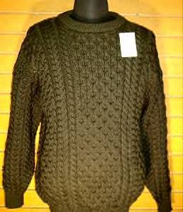 Adults HandLoomed Merino Wool Everglade Brown